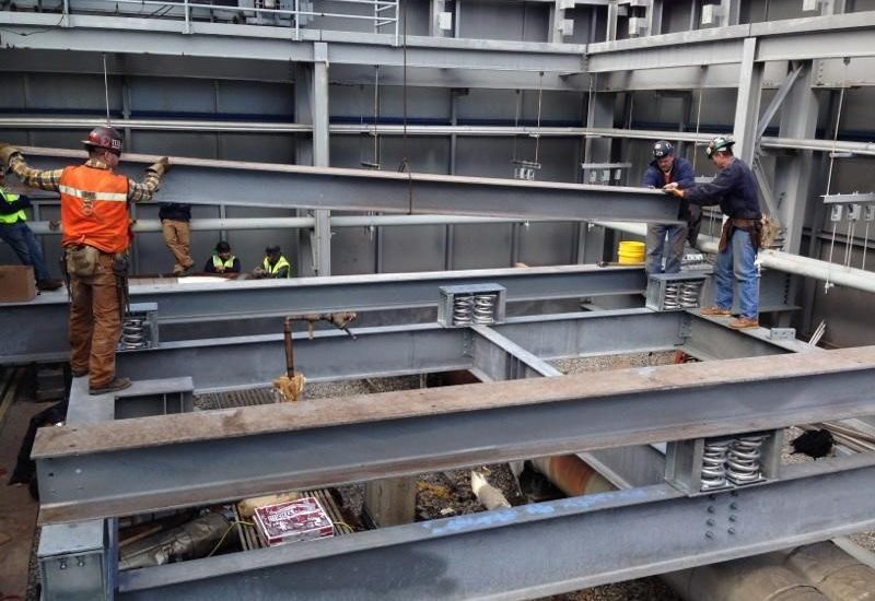 255 Greenwich Street -Cooling Tower Dunnage Install